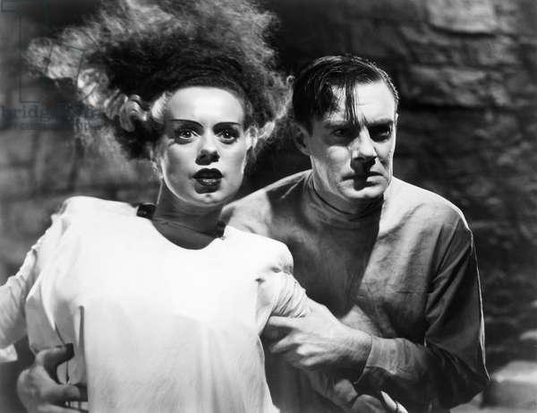 BRIDE OF FRANKENSTEIN, 1935 Elsa Lanchester and Colin Clive in 'The Bride of Frankenstein,' 1935.