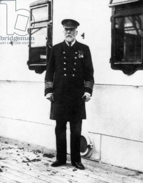TITANIC: THE CAPTAIN, 1912 Captain Edward John Smith.