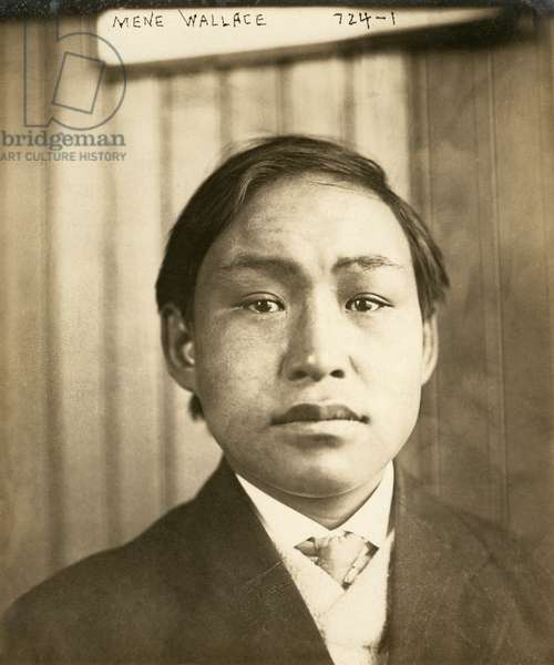 MINIK WALLACE ( c.1890-1918) Inuk boy, brought to New York from Greenland by Robert Peary. Photograph, 1910.