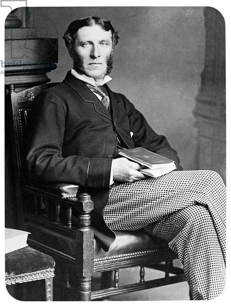 MATTHEW ARNOLD (1822-1888) English poet and critic. Photographed c.1880.