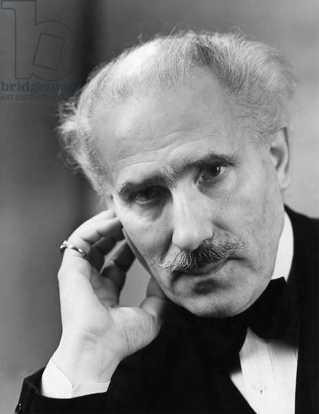 ARTURO TOSCANINI (1867-1957) Italian orchestral conductor. Photographed in 1938.