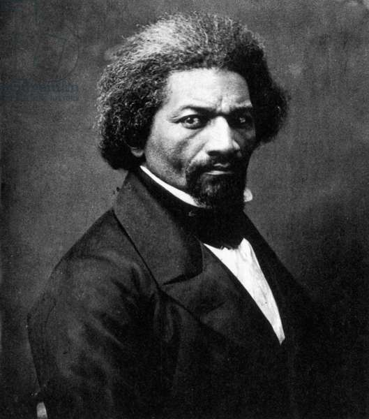 FREDERICK DOUGLASS ( c.1817-1895). American abolitionist and writer. Photograph, c.1866.