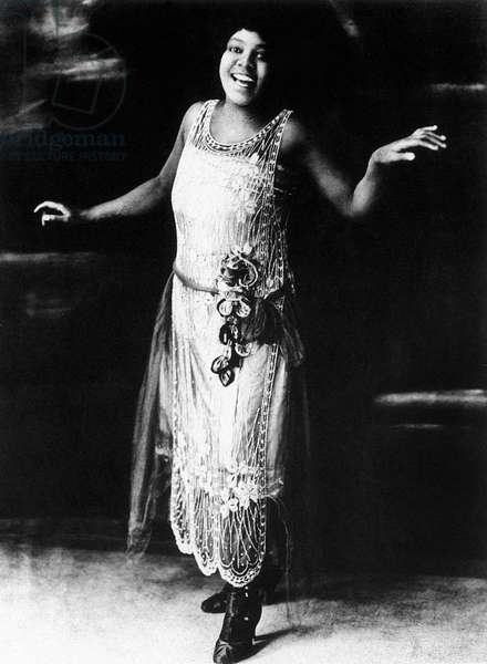 BESSIE SMITH (1894 or 1898-1937). American singer and songwriter. Photograph, c.1920.