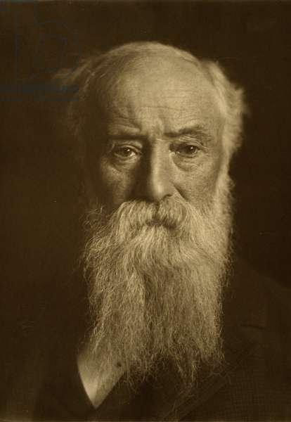JOHN BURROUGHS (1837-1921) American naturalist. Photograph, c.1921.