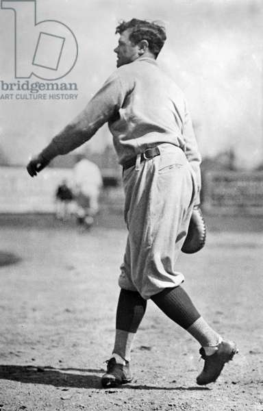 GEORGE H. RUTH (1895-1948) Known as Babe Ruth. American professional baseball player. Photographed while playing with the New York Yankees, 1922.