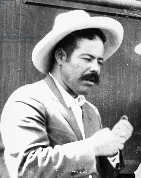 FRANCISCO 'PANCHO' VILLA (1878-1923). Mexican revolutionary leader. Photographed July 1914.