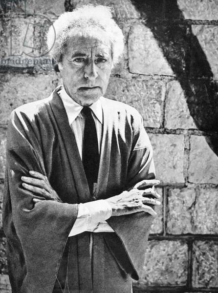 JEAN COCTEAU (1889-1963) French writer and artist.