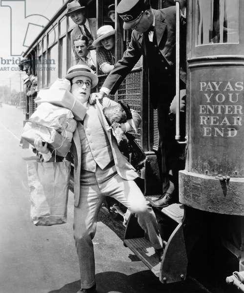 HAROLD LLOYD (1889-1971) American comedian. Lloyd in a 1920s film still.
