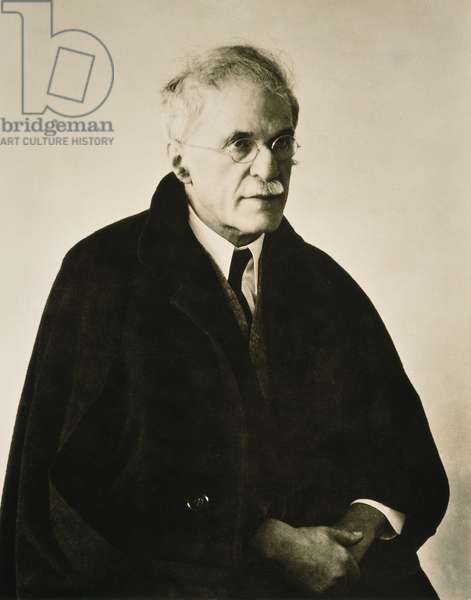 ALFRED STIEGLITZ (1864-1946) American photographer and editor: photographed c.1930.