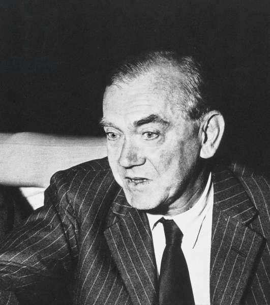 GRAHAM GREENE (1904-1991) English author.