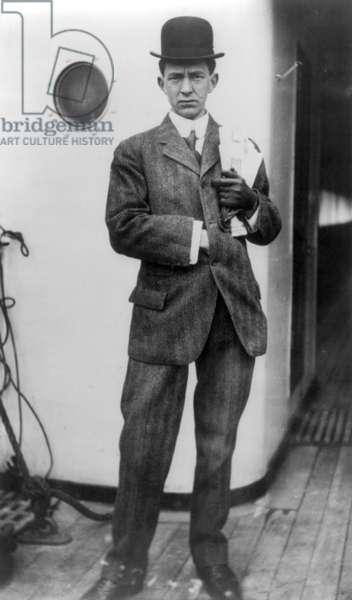 TITANIC: SURVIVOR, 1912 Sidney Stuart Collett, a survivor of RMS 'Titanic.' Photographed 19 April 1912.