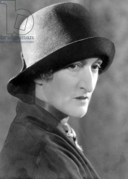 MARGOT ASQUITH (1864-1945) Née Emma Alice Margaret Tennant; also known as Lady Oxford and Asquith. English writer.