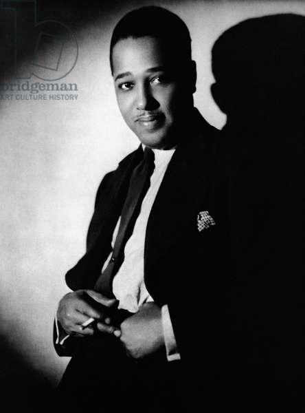 DUKE ELLINGTON (1899-1974) Edward Kennedy Ellington. American musician and composer. Photographed, 1929.
