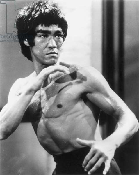 BRUCE LEE (1940-1973) Chinese-American martial artist and actor.