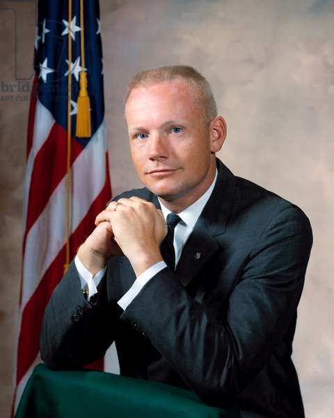 NEIL ARMSTRONG (1930-2012) American astronaut. Photograph, 1964.