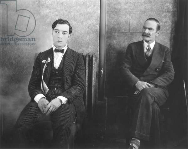 BUSTER KEATON (1896-1966) in a comedy about college life.