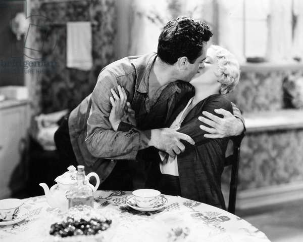 FILM STILL John Gilbert and Leila Hyams in 'Way for a Sailor,' 1930.