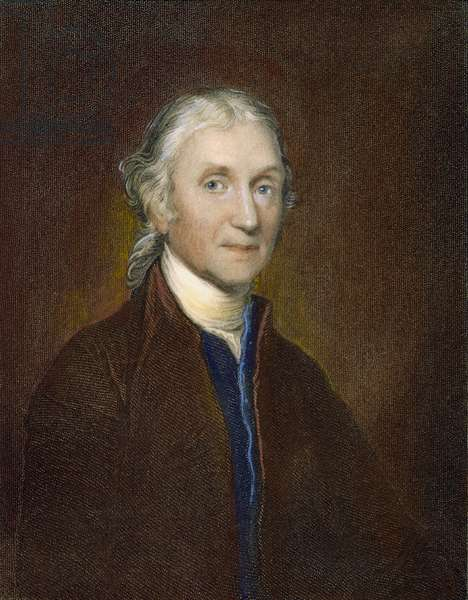 JOSEPH PRIESTLEY (1733-1804) English clergyman and chemist. Steel engraving, English, 1835.