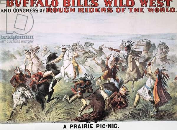 BUFFALO BILL: POSTER, 1894