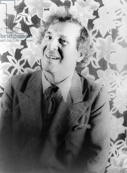 MARC CHAGALL (1887-1985) French (Russian born) painter. Photographed by Carl Van Vechten, 1941.