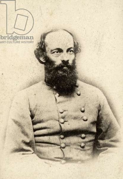 EDMUND KIRBY-SMITH (1824-1893). American army officer. Photographed during the American Civil War while in Confederate service.