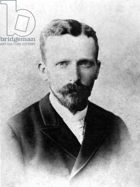 THEODORUS VAN GOGH  (1857-1891). Dutch art dealer; brother of artist Vincent Van Gogh. Photographed c1889.