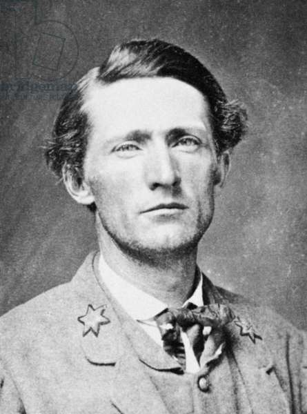 JOHN SINGLETON MOSBY (1833-1916). Confederate officer in the American Civil War.