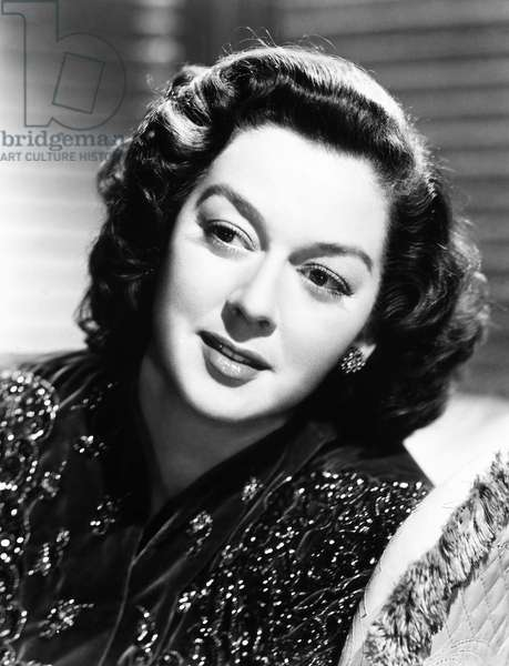 ROSALIND RUSSELL (1908-1976) American actress.
