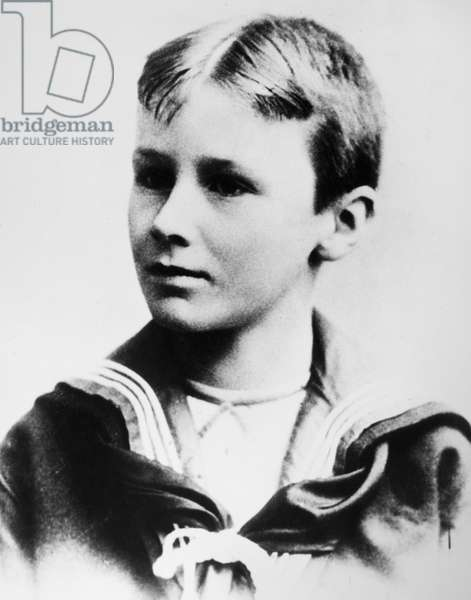 FRANKLIN DELANO ROOSEVELT (1882-1945). 32nd President of the United States. Photographed as a child, c.1895.