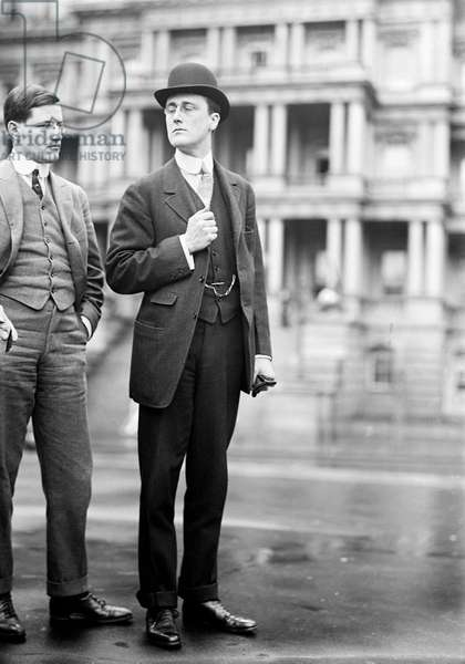 FRANKLIN DELANO ROOSEVELT (1882-1945). 32nd President of the United States. Photographed in Washington D.C., 1913.