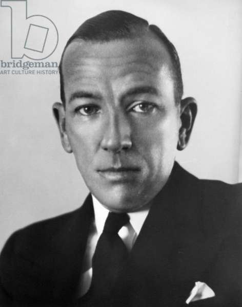NOEL COWARD (1899-1973) English actor and playwright.