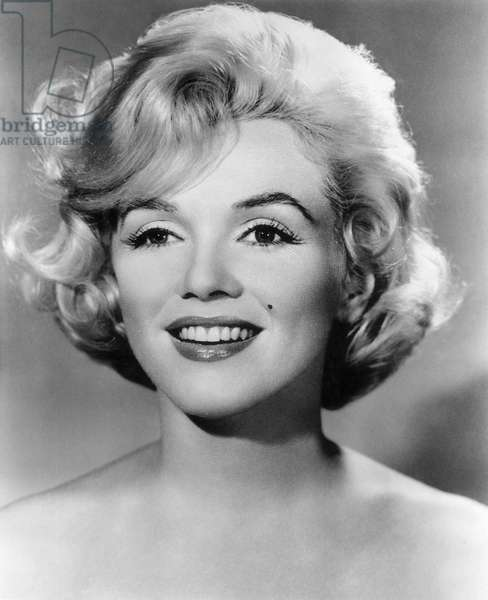 MARILYN MONROE (1926-1962) American cinema actress.