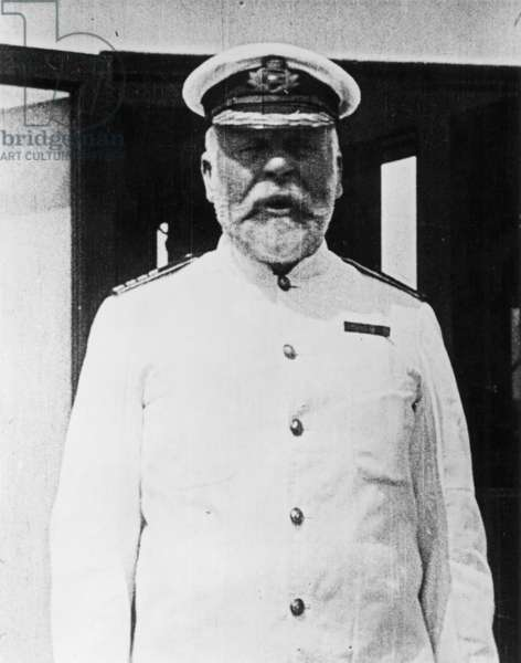 EDWARD J. SMITH (1850-1912) Master of the White Star liner, R.M.S. Titanic.
