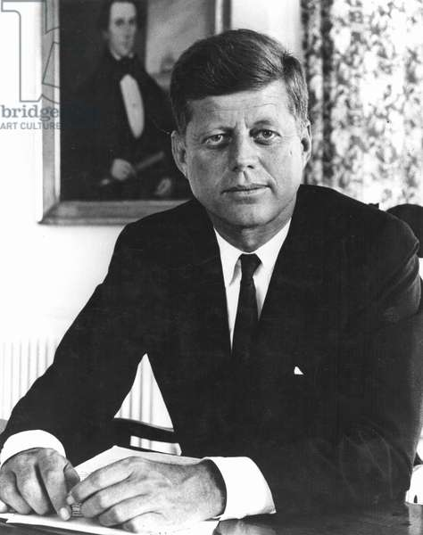 JOHN F KENNEDY (1917-1963) 35th President of the United States.