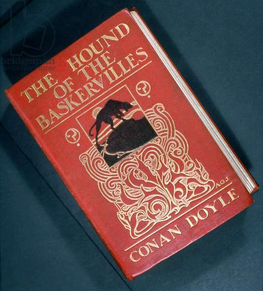 HOUND OF THE BASKERVILLES First edition of 'The Hound of the Baskervilles' by Arthur Conan Doyle, 1902.