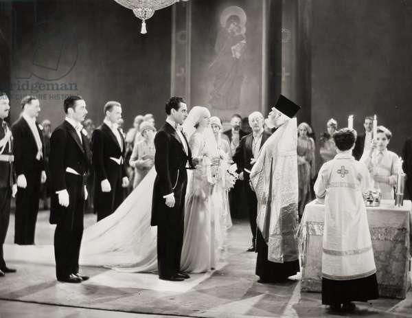 SILENT FILM STILL: WEDDING.