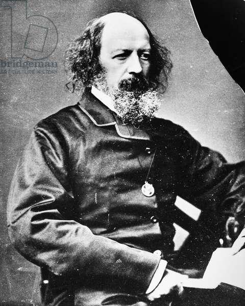 ALFRED TENNYSON (1809-1892). English Baron and poet.