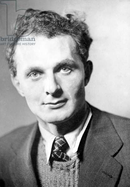 STEPHEN SPENDER (1909-1995) English poet. Photographed in 1936.