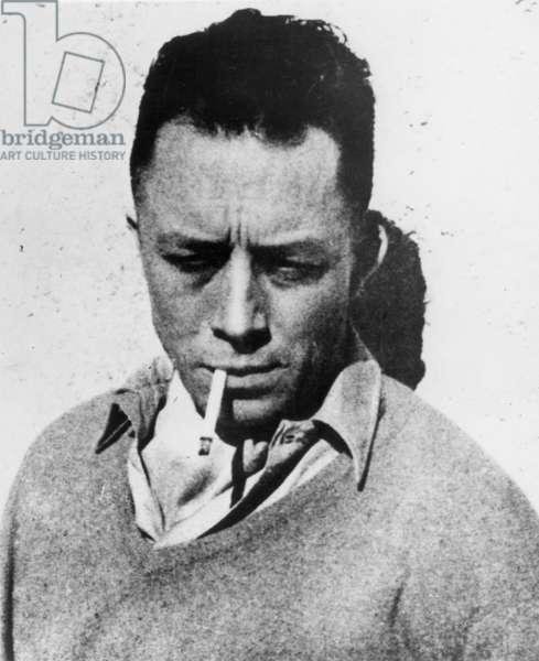 ALBERT CAMUS (1913-1960) French witer.