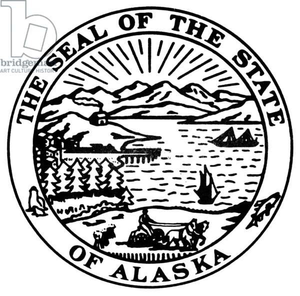 ALASKA STATE SEAL.