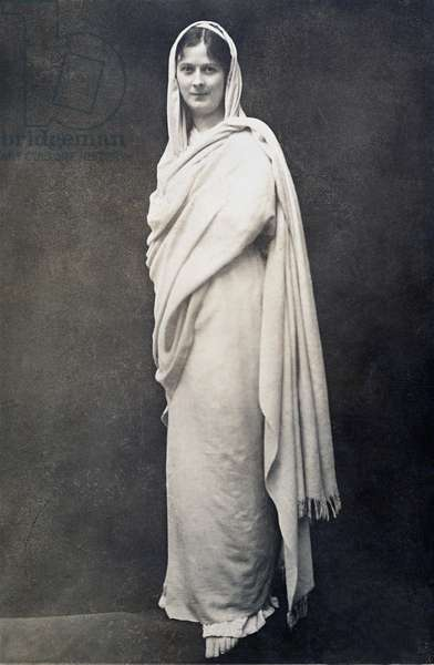 ISADORA DUNCAN (1877-1927). American dancer. Undated photograph.