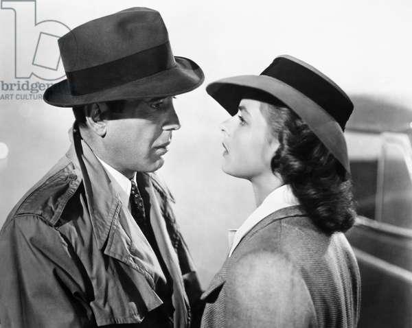 CASABLANCA, 1942 Humphrey Bogart and Ingrid Bergman in a scene from 'Casablanca,' 1942.