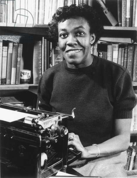 GWENDOLYN BROOKS (1917-2000). American poet. Photographed in 1950 at the time of winning the Pulitzer Prize for poetry.