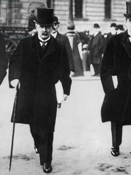 DAVID LLOYD GEORGE (1863-1945). 1st Earl of Dufor. English statesman.