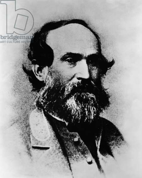 JUBAL A. EARLY (1816-1894) American lawyer and Confederate general. Photographed during the American Civil War.