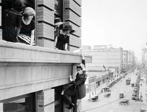 HAROLD LLOYD (1894-1971) American comedian.