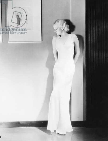 JEAN HARLOW (1911-1937) American actress.