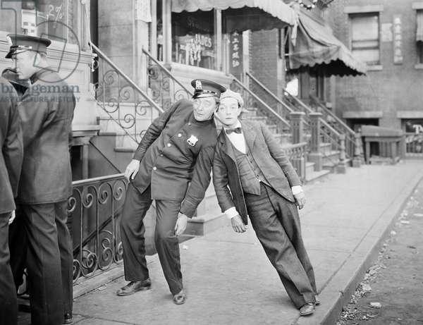 CAMERAMAN, 1928 Starring Buster Keaton and Harry Gribbon.