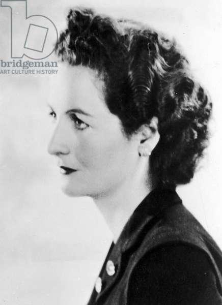 NANCY MITFORD (1904-1973) English writer.