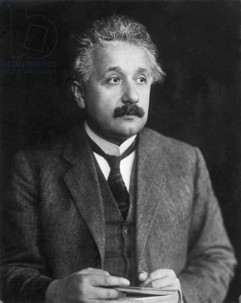ALBERT EINSTEIN (1879-1955) American (German born) theoretical physicist.